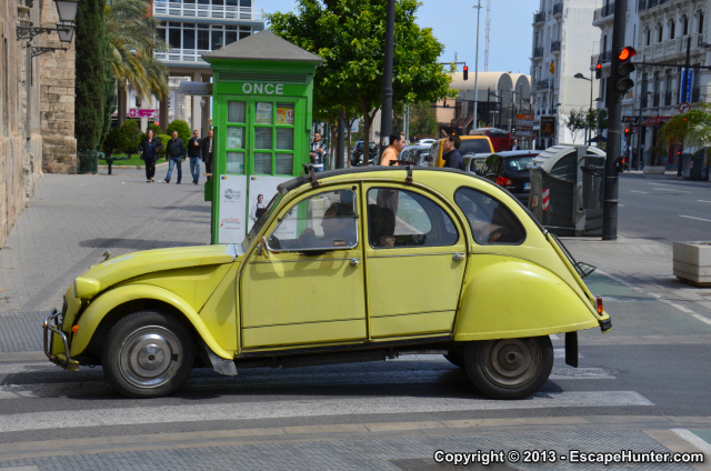 Valencia Vehicle Spotting Escape Hunter S Urban Adventures